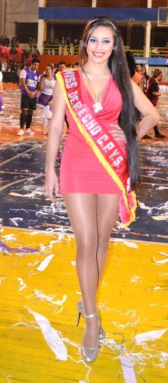 Anto Mancuello, Miss Facultad de Derecho. Reina que tuvo el primer puesto entre las bellezas de la UNP.