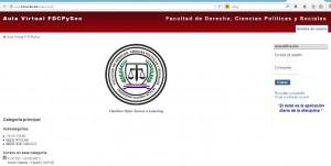 La nueva dirección de la Plataforma es: www.fderecho.net/aulavirtual